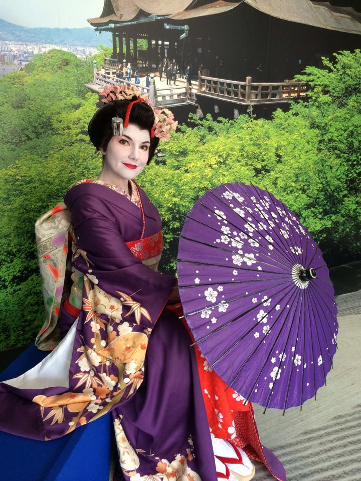 ГЕЙШИ… Удалось побыть японской фотомоделью…