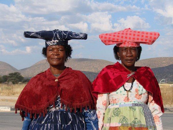 Племя гереро. Намибия